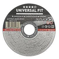 "Multi-Material Cutting Disc 4½"" (115mm) x 1.6 x 22.2mm"