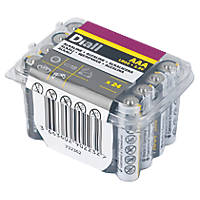 Diall Alkaline AAA Batteries 24 Pack