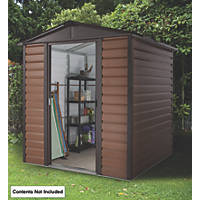 Yardmaster  Sliding Door Shed Brown 6 x 6' (Nominal)