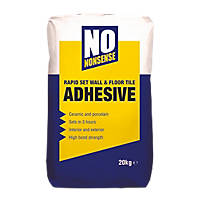No Nonsense  Wall & Floor Tile Adhesive Grey 20kg