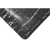 COBA Europe Marble Top Anti-Fatigue Floor Mat Black 0.9 x 0.6m