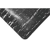 COBA Europe Marble Top Anti-Fatigue Mat Black 0.9m x 0.6m