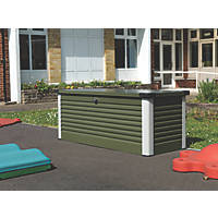 Trimetals Patio Box 1350 x 785 x 725mm Olive Green