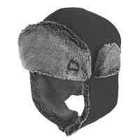 Hyena  Trapper Hat Black