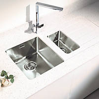 Metis  Ice Sink Module with 1.5 Bowl Stainless Steel Sink 3050 x 620 x 15mm