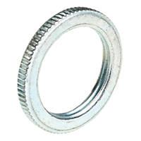 Deta BZP Metal Milled-Edge Lockrings 25mm Pack of 10