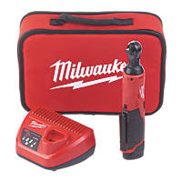Milwaukee M12 IR-201B 12V 2.0Ah Li-Ion RedLithium  Cordless Impact Ratchet