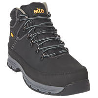 Site SF457 Bronzite   Safety Boots Black Size 9