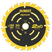 DeWalt Extreme 2nd Fix Circular Saw Blade 165 x 20mm 24T