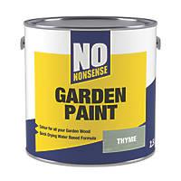 No Nonsense Garden Colour Wood Paint Semi-Matt Thyme 2.5Ltr