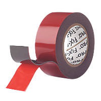 Velcro Brand Fix-Pro Extreme Mounting Tape Black 2m x 25mm