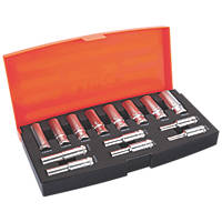 "Bahco  3/8"" Drive Deep Socket Set 14 Pieces"
