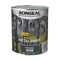 Ronseal Metal Paint Storm Grey 750ml