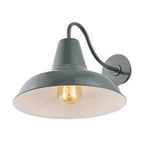 zinc venus grey wall light 60w outdoor wall lights. Black Bedroom Furniture Sets. Home Design Ideas