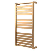 GoodHome Loreto Vertical Water Towel Warmer 1000 x 500mm Copper