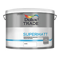 Dulux Trade Emulsion Paint White 10Ltr