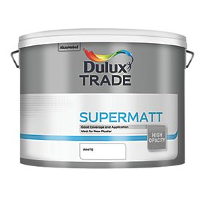 Dulux Trade Emulsion Paint White Ltr