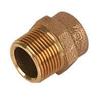Endex  Brass End Feed Adapting Male Coupler 22mm x ¾""
