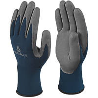 Delta Plus VV811 Safe & Strong Versatile Handling Gloves Blue / Grey Large