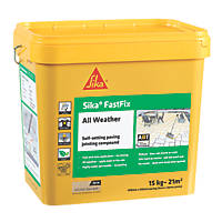 Sika Fastfix Self-Setting Paving Jointing Compound Dark Buff 15kg