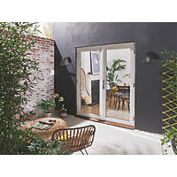 Jeld-Wen Bedgebury Hardwood External French Door Set White 1194 x 2094mm