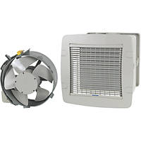 Vent-Axia TX9PL 85W Panel Extractor Fan  Soft-Tone Grey 220-240V
