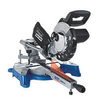 Scheppach HM80LXU 210mm Single-Bevel Sliding  Compound Mitre Saw 230V