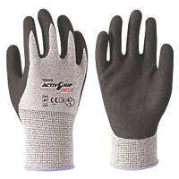 Towa ActivGrip Omega Cut-Resistant Gloves Black / Grey X Large
