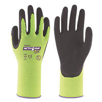 Towa ActivGrip Lite Cut-Resistant Gloves Black / Yellow Medium