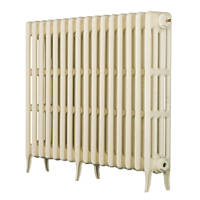 Arroll  4-Column Cast Iron Radiator 760 x 874mm Cream