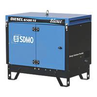 SDMO 6500TES 5200W Portable Generator 230 / 415V