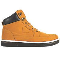 JCB 4CX/B   Safety Boots Honey Size 8