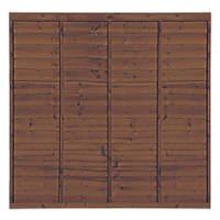 Grange Professional Lap Fence Panels 1.83 x 1.8m 3 Pack