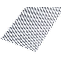 Rothley Protective Door Plate Steel 250 x 500mm
