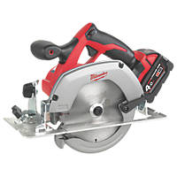Milwaukee HD18CS-402B 165mm 18V 4.0Ah Li-Ion RedLithium  Cordless Circular Saw