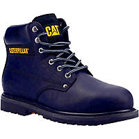CAT Powerplant S3   Safety Boots Black Size 8