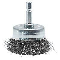 Norton Crimped Cup Brush 50mm