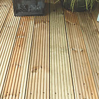 Forest Deck Board 19mm x 2.4m x 0.12m 10 Pack