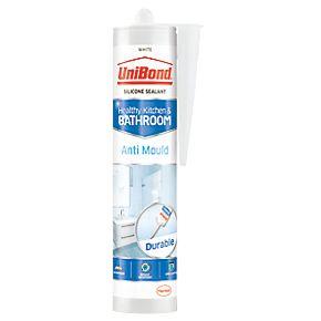 Unibond Anti Mould Shower Amp Bathroom Sealant Ice White