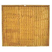 Forest Closeboard  Fence Panels 1.83 x 1.52m 8 Pack
