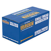Goldscrew PZ Double-Countersunk Multipurpose Screws 4 x 40mm 1000 Pack