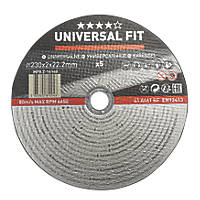 "Metal Metal Cutting Disc 9"" (230mm) x 2 x 22.2mm 5 Pack"