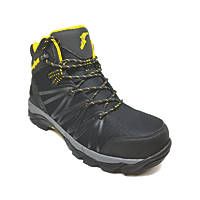 Goodyear GYBT1517   Safety Trainer Boots Black / Yellow Size 9
