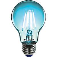 Sylvania Helios Chroma ES A60 Blue LED Light Bulb 4W