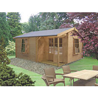 Ringwood Log Cabin 3.6 x 4.1m