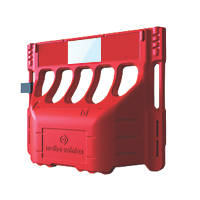 Melba Swintex Buddha Safety Barrier Red