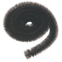 FloPlast  Gutter Brush 12m  Black 3 Pack