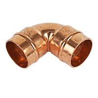 Yorkshire  Copper Solder Ring Equal 90° Elbow 28mm