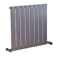 Ximax Oceanus Horizontal or Vertical Designer Radiator 600 x 595mm Silver
