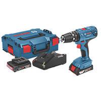 Bosch GSB 18V-21 Professional  18V 2.0Ah Li-Ion Coolpack  Cordless Combi Drill